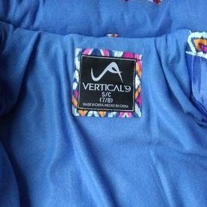 Vertical9 Jackets & Coats - Vertical 9® Girls' Faux Fur Trim Puffer Jacket